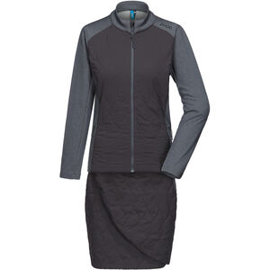 PYUA Blink Insulated Dress Damen grey mel-almost black grey mel-almost black