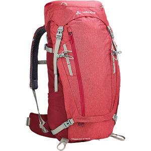 VAUDE Asymmetric 38+8 Backpack Damen indian red indian red