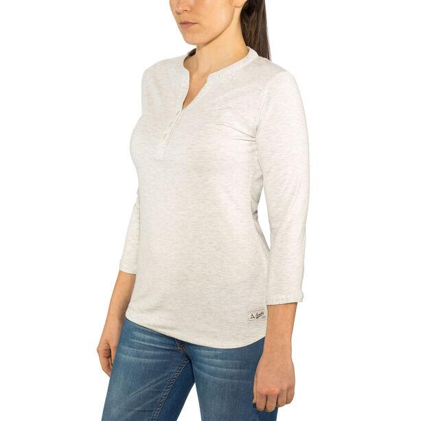Schöffel Johannesburg Longsleeve Shirt Damen white alyssum
