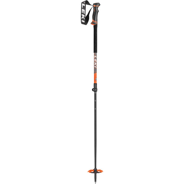 LEKI Helicon Skistöcke anthracite/white/orange