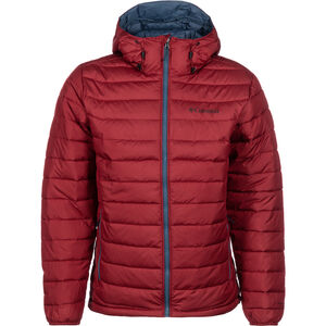 Columbia Powder Lite Hooded Jacket Herren red jasper red jasper