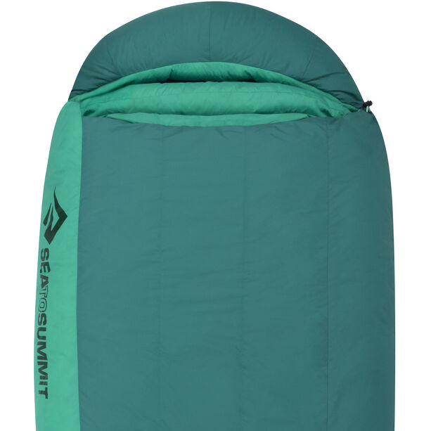Sea to Summit Journey JoII Schlafsack Long Damen emerald/peacock