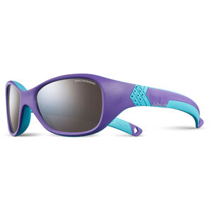 Julbo Solan Spectron 4 Sunglasses 4-6Y Kinder purple/turquoise-gray flash silver purple/turquoise-gray flash silver
