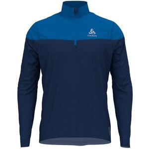 Odlo Ceramiwarm Element Half Zip Midlayer Herren estate blue/directoire blue estate blue/directoire blue