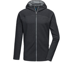 PYUA Crest-Y Hooded Zipper Herren black melange black melange