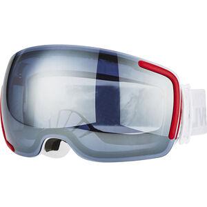 UVEX Big 40 LM Goggles white mat/litemirror silver grey white mat/litemirror silver grey