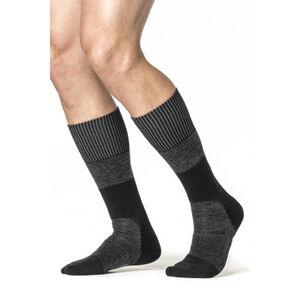 Woolpower Socks Skilled Classic 400 black/dark grey black/dark grey