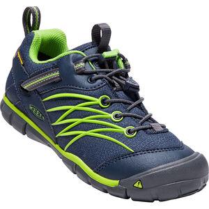 Keen Chandler CNX WP Shoes Jugend dress blues/greenery dress blues/greenery
