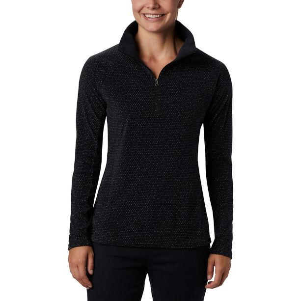 Columbia Glacial IV Print 1/2 Zip Pullover Damen black sparkler print