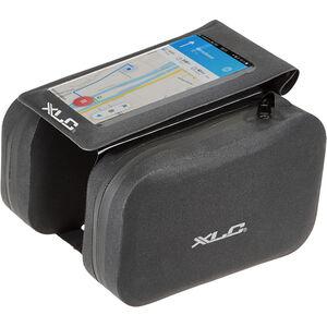 XLC Rahmentasche mit Telefonhalter black black