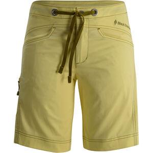 Black Diamond Credo Shorts Damen lemon lemon