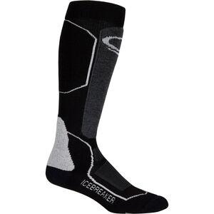 Icebreaker Ski+ Medium Over The Calf Socks Herren black/oil/silver black/oil/silver