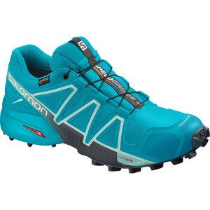 Salomon Speedcross 4 GTX Schuhe Damen bluebird icy morn ebony