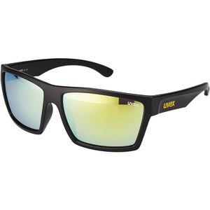 UVEX LGL 29 Glasses black mat/yellow black mat/yellow