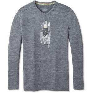 Smartwool Merino Sport 150 Old Man Winter Langarm T-Shirt Herren medium gray heather medium gray heather