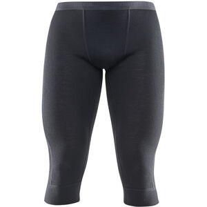 Devold Hiking 3/4 Unterhose Herren black black