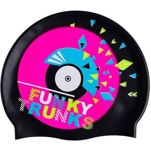 Funky Trunks Silicone Swimming Cap disco stu disco stu