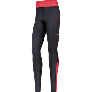 GORE WEAR R3 Thermo Tights Damen black/hibiscus pink black/hibiscus pink