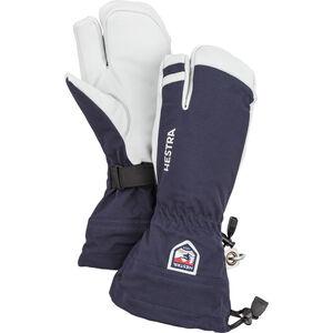 Hestra Army Leather Heli Ski 3 Finger Gloves navy navy