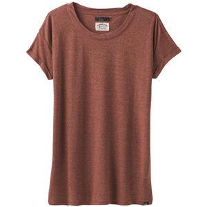Prana Cozy Up T-Shirt Damen chai heather chai heather