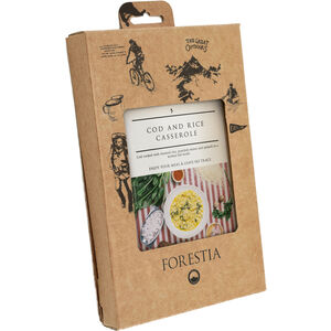 Forestia Heater Outdoor Meal Meat 350g Cod and Rice Casserole