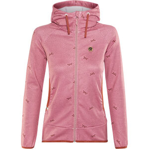 Maloja AmaliaM. Hooded Fleece Jacket Damen cherry blossom cherry blossom