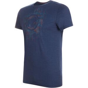 Mammut Alnasca T-Shirt Herren peacoat peacoat