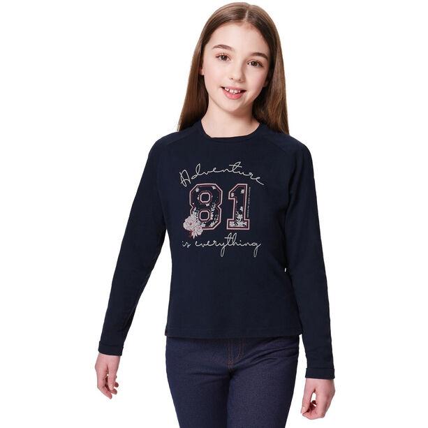 Regatta Wylie LS Shirt Mädchen navy