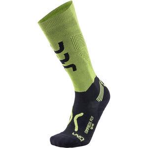 UYN Run Compression Fly Socks Herren acid green/black acid green/black