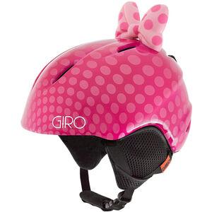 Giro Launch Plus Helm Kinder pink bow polka dots pink bow polka dots