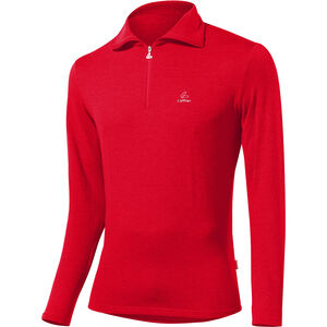 Löffler Basic CF Transtex Zip-Sweater Herren red red