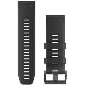 Garmin QuickFit Silikon Uhrenband 26mm black black