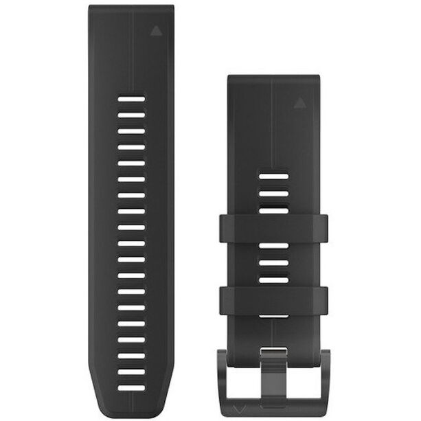 Garmin QuickFit Silikon Uhrenband 26mm black