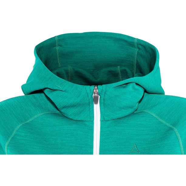 Schöffel Trentino Fleece Hoodie Damen spectra green