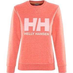 Helly Hansen Logo Crew Sweater Damen faded rose melange faded rose melange