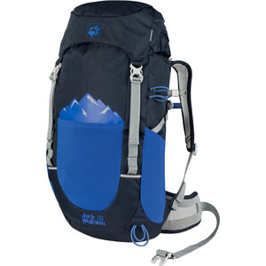 Jack Wolfskin Pioneer 22 Rucksack Kinder night blue night blue