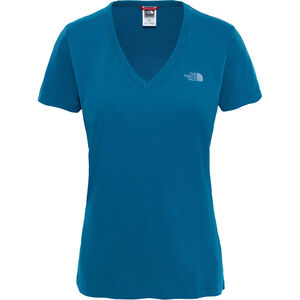 The North Face Simple Dome SS Tee Damen blue coral blue coral