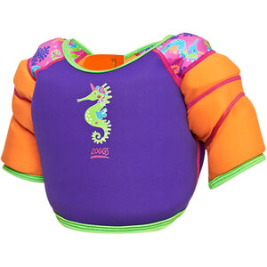 Zoggs Sea Unicorn Water Wing Vest Kinder pink pink