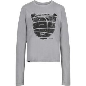 Regatta Wendell Langarm Shirt Jungs rock grey rock grey