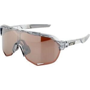 100% S2 Hiper Mirror Glasses translucent grey translucent grey