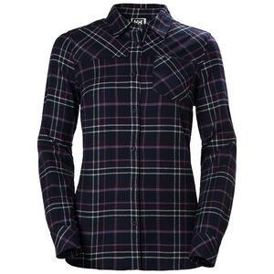 Helly Hansen Classic Check Langarm Shirt Damen nightshade plaid nightshade plaid