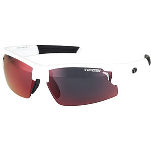 Tifosi Escalate FH Glasses Herren matte white - clarion red/ac red/clear matte white - clarion red/ac red/clear