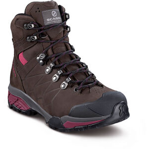 Scarpa ZG Pro GTX Schuhe Damen dark coffee/red plum dark coffee/red plum