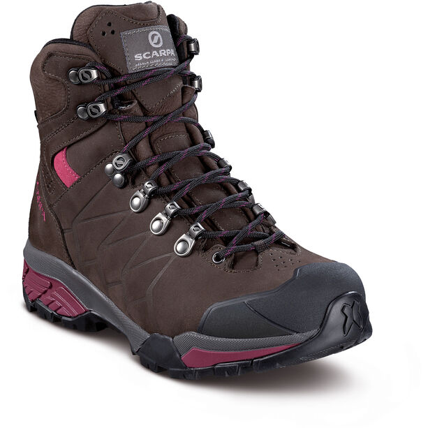 Scarpa ZG Pro GTX Schuhe Damen dark coffee/red plum