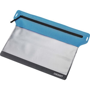 Cocoon Zippered Flat Document Bag Medium blue blue
