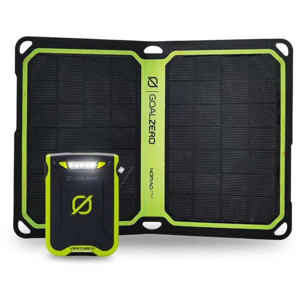 Goal Zero Venture 30 Solar Kit Nomad 7+ black/green