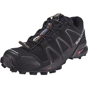Salomon Speedcross 4 Shoes Damen black/black/black metallic black/black/black metallic