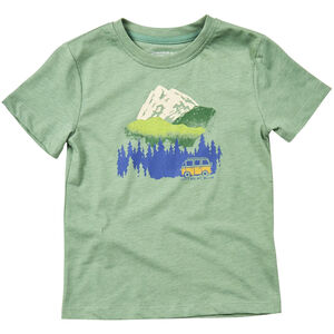 United By Blue Get Away Ride SS Graphic Tee Kinder fern green fern green