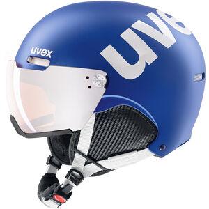 UVEX hlmt 500 Visor Helm cobalt-white mat cobalt-white mat
