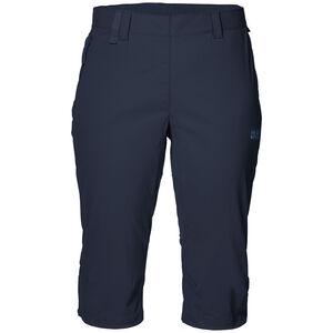 Jack Wolfskin Activate Light 3/4 Pants Damen midnight blue midnight blue